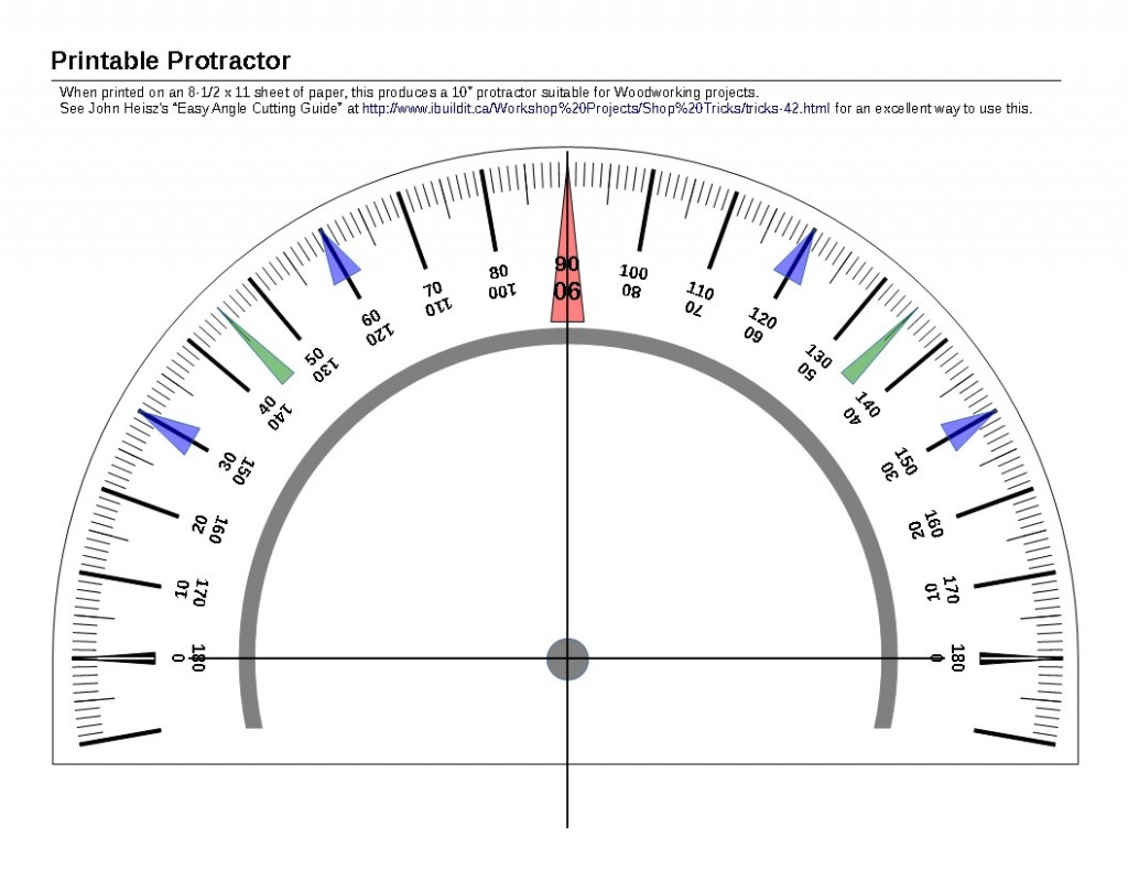 printable protractor linear concepts. Black Bedroom Furniture Sets. Home Design Ideas